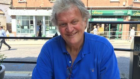 Tim Martin, chairman of Wetherspoons, at The Bell Hotel in Norwich during his pro-Brexit tour. Pictu