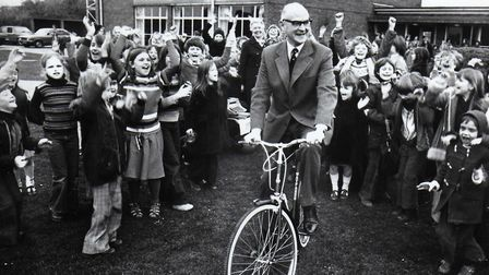 John Kett, when he retired in 1978. Picture: ARCHANT LIBRARY