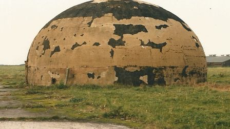 The dome before restoration. Pictures: supplied by Langham Dome.