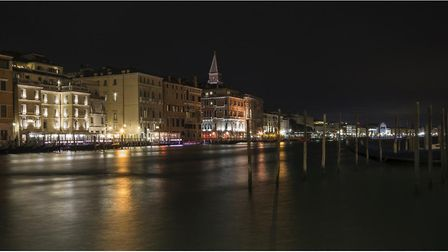 A photo of Venice at night by John Nield, member of the Buxton Photographic Club. Picture: JOHN NIEL
