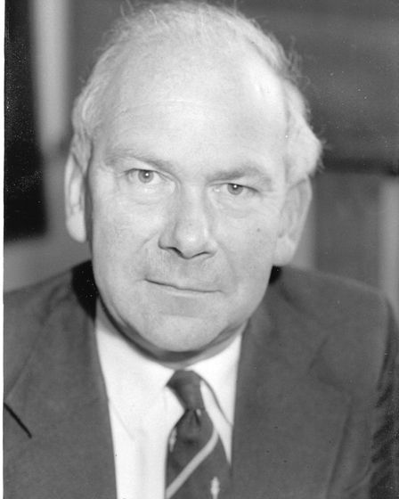 The former chief executive of North Norfolk District Council, Terry Nolan, has died aged 84. PHOTO: