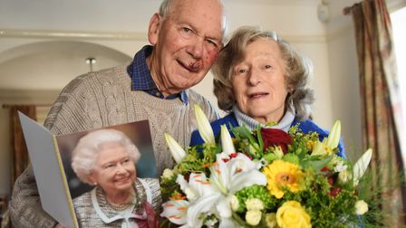 Yvonne and Terry Nolan celebrated their 60th wedding anniversary at their home in Cromer in 2017. Pi