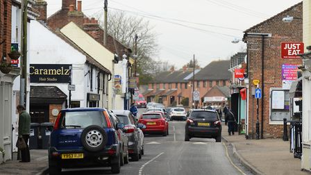 Stalham high street. Picture: MARK BULLIMORE