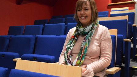 Director Debbie Thompson in the new seating. Pictures: Richard Batson/ Steve Banks