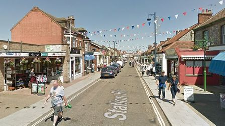 Station Road in Sheringham. Picture: GOOGLE STREETVIEW