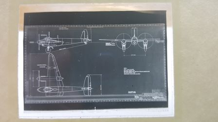 Drawings of the RL249 Mosquito. Photo: The People's Mosquito
