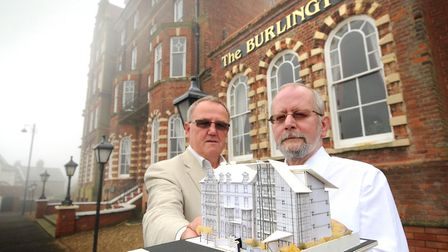 Flashback to 2014 when plans were lodged to refurbish the Burlington Hotel. Architect Bernard Smith,