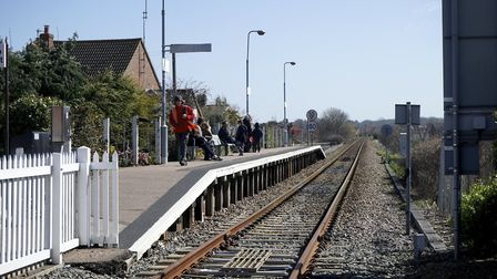 Sheringham Railway Station will be closed for more than a month as a new platform is built there to