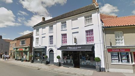 """Residents in Holt have said high street shops are """"too expensive"""". Photo: GOOGLE STREETVIEW"""