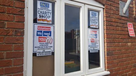 A new PACT charity shop is opening in Holt, near Budgens supermarket. Photo: JONO READ
