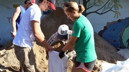Molly Cook, from Norwich, volunteering in Costa Rica and Nicaragua with Raleigh International in 201
