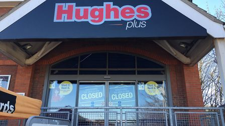 Hughes electronics hire shop in Cromer, which has now closed down. Picture: STUART ANDERSON