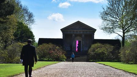 The Word Defiant! art exhibition at Blickling Hall.Picture: ANTONY KELLY