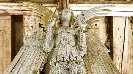 Chance to see roof angels at Cawston Parish Church. Picture: Revd Andrew Whitehead