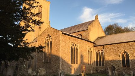 Chance to climb to the roof at Cawston parish church and marvel at the angels, medieval carvings and