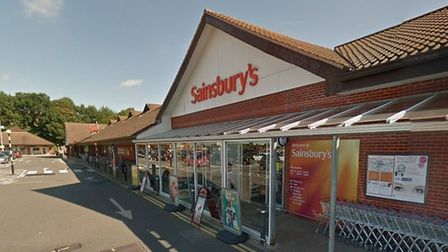 A vital cashback service has been reinstated at North Walsham's Sainsbury's supermarket. Pictured, S