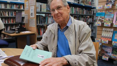 Mr Slipper wrote a book charting the history of education in Sheringham. Picture: KAREN BETHELL