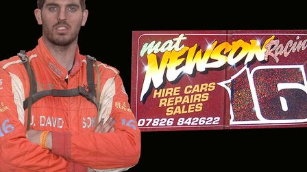 Support has been expressed for stock car driver Mat Newson who is in hospital. Picture: Archant