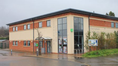 Sheringham Community Centre, which is set to become the new headquarters of Sheringham Town Council.