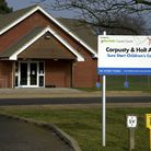 The Corpusty and Holt Area Sure Start Centre in Holt, one of many which are facing closure by the co
