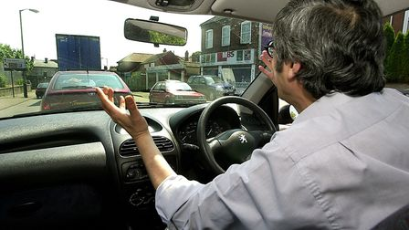 Rod Drayne says drivers are becoming increasingly aggressive on the roads. Picture: Simon Finlay