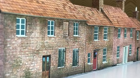 Scale model of the former Ship Yard in North Walsham. Picture: Neil Didsbury