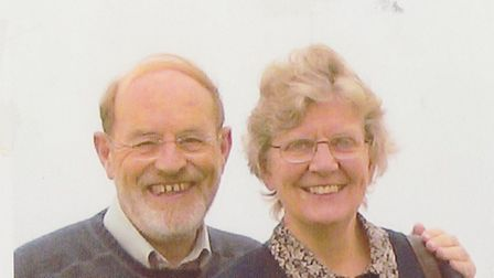 Judith and Revd Michael Banks in 2005. Pictures: supplied by Judith Banks