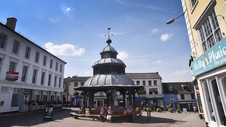 North Walsham Market Place. Picture: ANTONY KELLY
