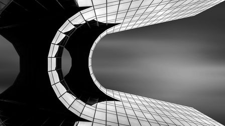 London architecture by Phil Harbord was one of the winning photographs from the Buxton Photographic
