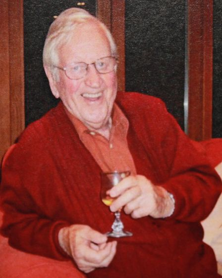 North Norfolk's own James Herriot, Ken Gledhill, who has died aged 94.Photo: Gledhill family