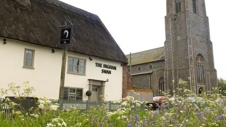 The Ingham Swan before the fire. Picture: Archant