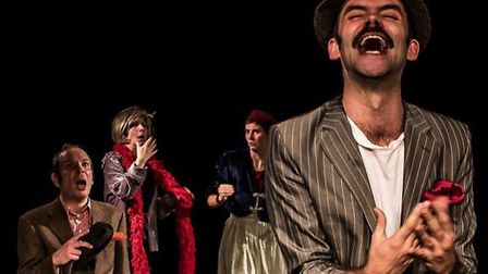 The Government Inspector at the Auden Theatre, Holt. Picture: SHIFTING SANDS THEATRE COMPANY