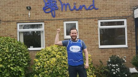 Mitchell Hare is running the London Marathon for Mind. Photo: Mitchell Hare