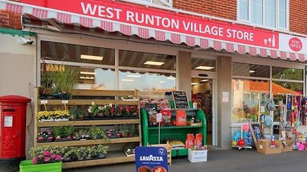 West Runton village stores and post office. Picture: Supplied by Andrea Loakes