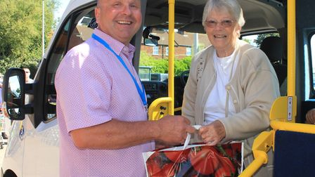 North Norfolk Community Transport lead driver Vic Evans. who will be taking more passengers on trips