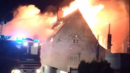 A fire took hold of the Ingham Swan in September 2017. Picture: Arlene Warwick