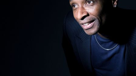 Andy Abraham, who is performing a tribute show to Nat King Cole at Cromer Pier. Picture: ARCHANT LIB