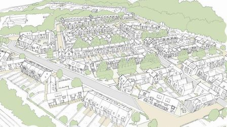 How the new housing development could look. Pictures: PLANNING DOCUMENTS