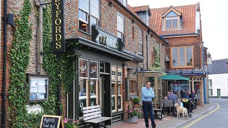 Byfords' shop and cafe, Holt, pictured a few years ago. PHOTO: ANTONY KELLY
