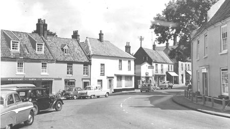 Holt town centre, 6 August 1960. Photo: Archant Library