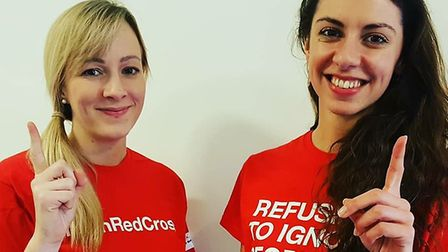 The British Red Cross have asked residents for their help collecting donations at Tescos in north No