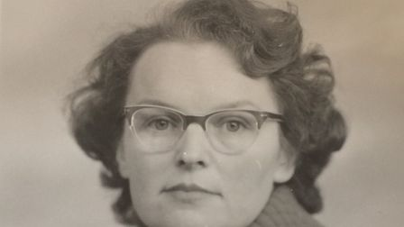 June Warnes as a young woman. Pictures: Warnes family