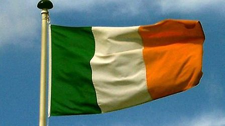 The flag of Ireland, often refered to as the Irish tricolour. One reader questioned whether it shoul