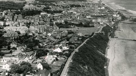 Aerial view of Cromer. Picture: Archant Archive