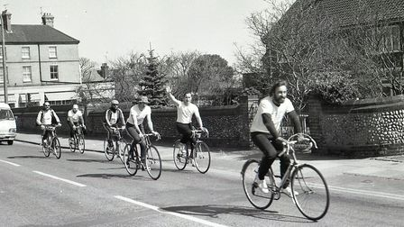 Cycling in Cromer in 1980. Photo: Archant Library