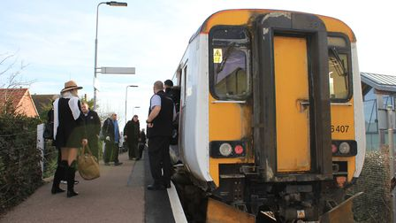 Sheringham station, where a project to replace a railway platform is about to start. Photo: KAREN BE
