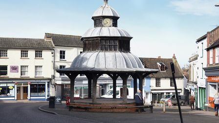 The Market Cross in North Walsham. Picture: DENISE BRADLEY