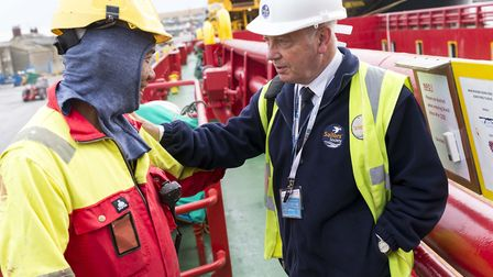Sailors' Society chaplains and ship visitors reach out to 1,000 seafarers and their families each da