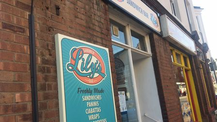New Lily's sandwich bar in Hamilton Road, Cromer. Pictures: David Bale