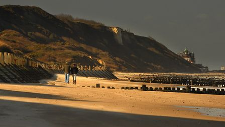 The Norfolk Coast Area of Outstanding Natural Beauty. includes the cliffs between Overstrand and Cro